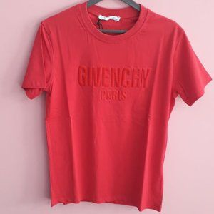 GIVENCHY MEN RED SHORT SLEEVE